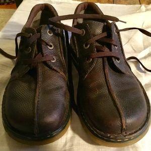 New Doc Marten Brown Leather Men's Lace Shoes 11